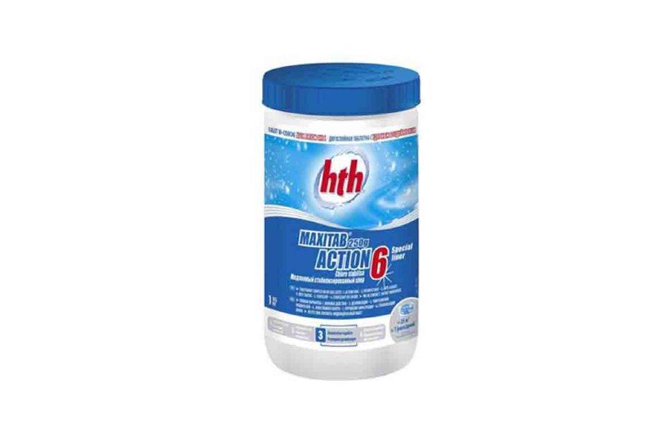 K801792H1 HTH, двухслойная таблетка 6 в 1 MAXITAB ACTION 6. 1 кг по 250 гр. в Уфе