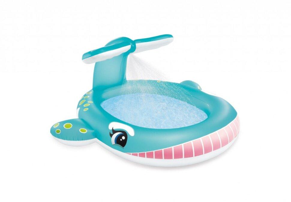 """Детский надувной бассейн """"Кит"""" INTEX 57440 в Калуге"""