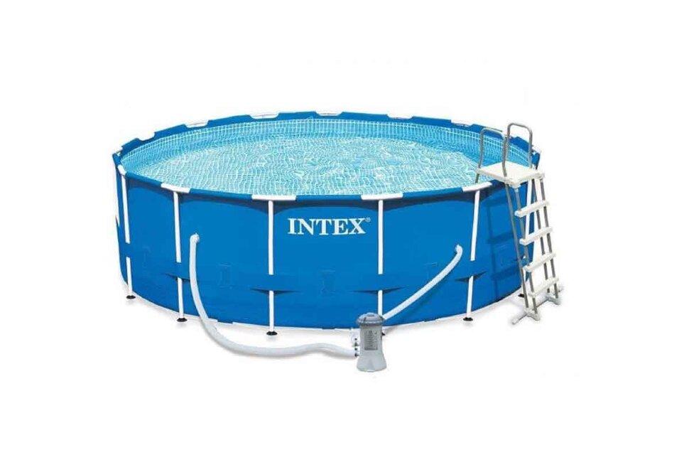 Большой каркасный бассейн INTEX 28242 в Уфе