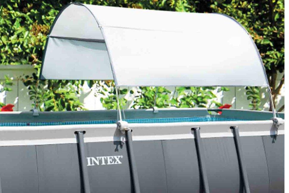 Навес для прямоугольных и овальных бассейнов Intex 28054 в Смоленске