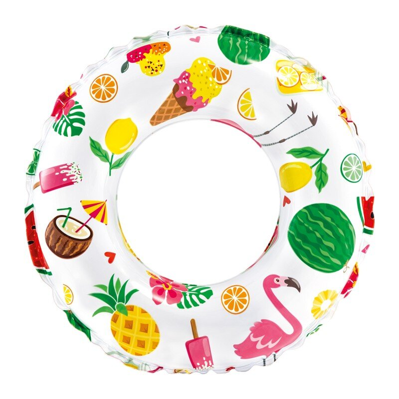 Надувной круг для плавания INTEX 59230 Пляжные сладости в Кемерово