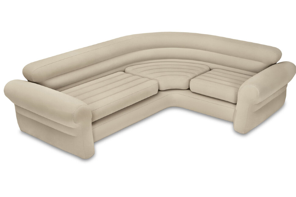 Надувной угловой диван INTEX 68575 в Москве