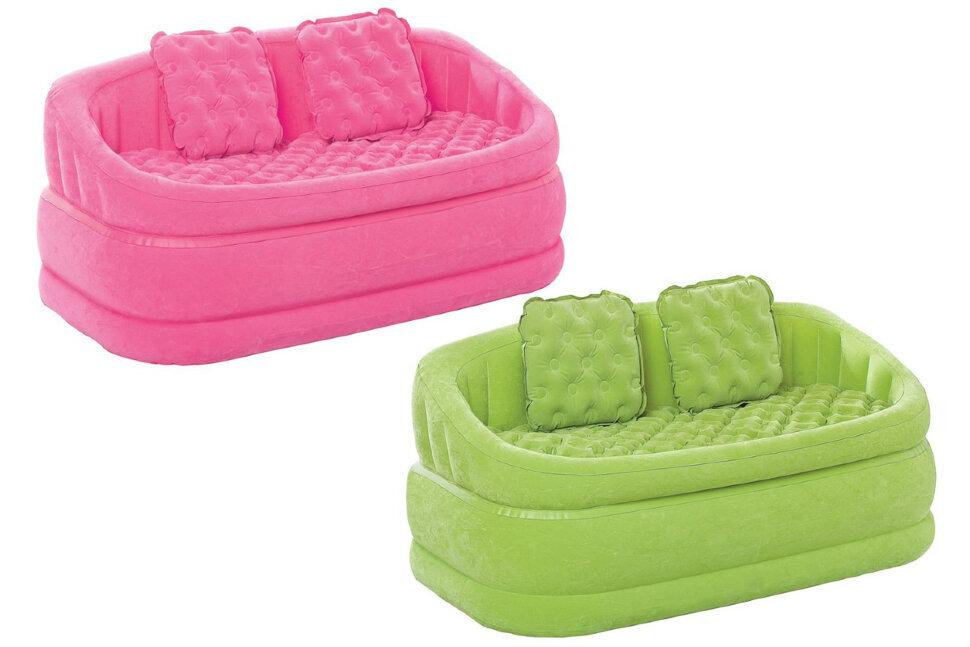 Надувной диван INTEX 68573(поврежденная упаковка) в Барнауле