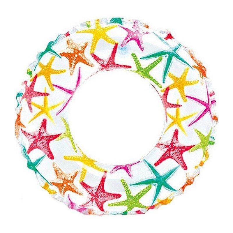 Надувной круг для плавания INTEX 59230 Морские звезды в Москве