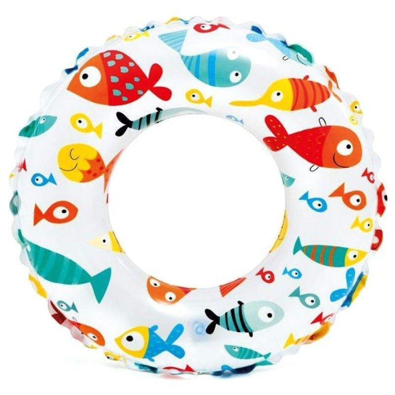 """Надувной плавательный круг INTEX 59241 """"Рифовые рыбы"""" в Новосибирске"""
