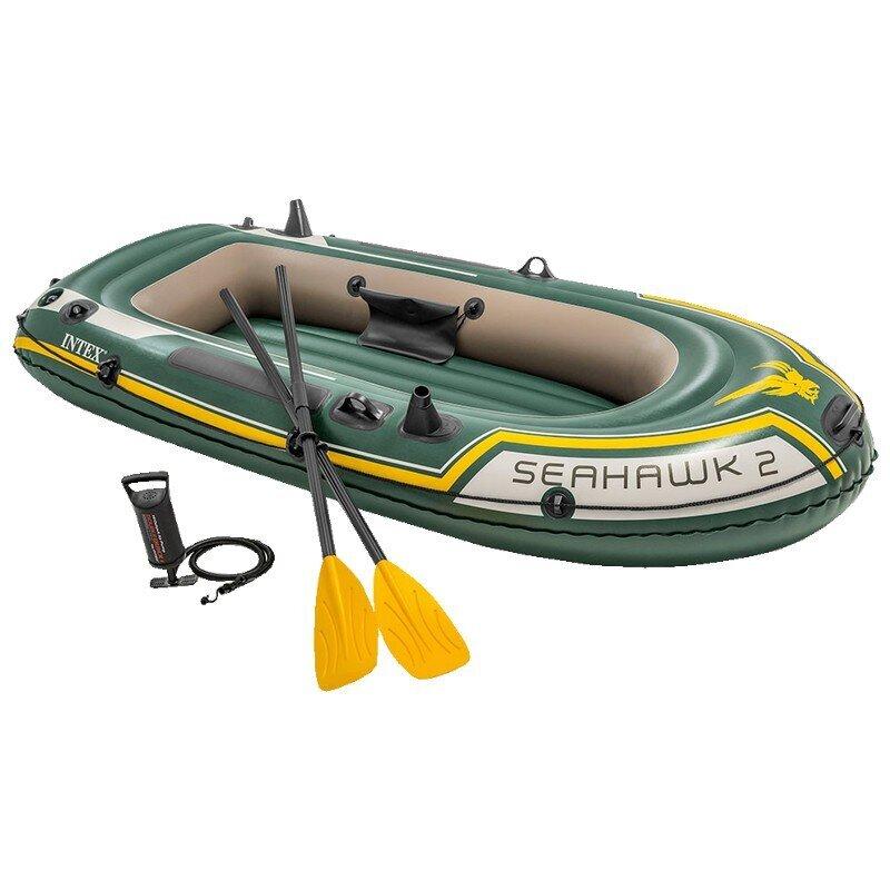 Лодка надувная двухместная INTEX Seahawk-2 Set 68347(поврежденная упаковка) в Тольятти