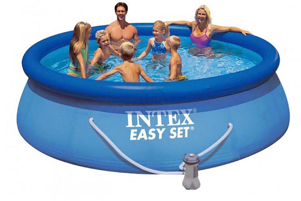 Надувной бассейн INTEX Easy Set 28132 в Москве