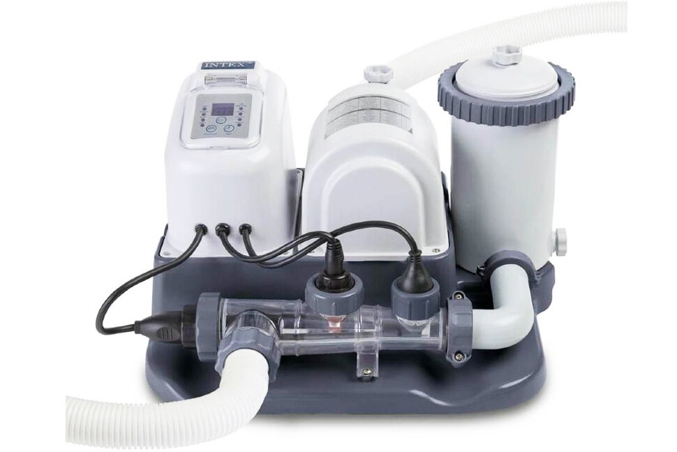 Картриджный фильтр-насос с хлоргенератором для бассейна INTEX 28674 в Уфе
