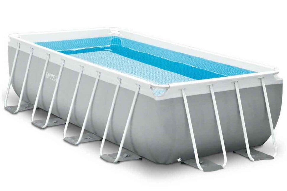 Бассейн каркасный прямоугольный 26792 + в подарок игровые мячи для бассейна в Перми
