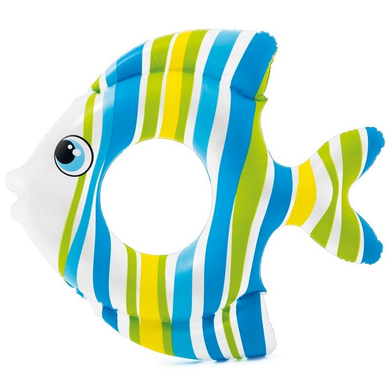"""Круг для плавания """"Тропическая рыбка"""" INTEX 59223 Blue в Тольятти"""