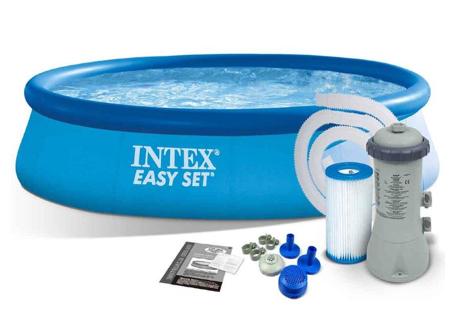Надувной бассейн INTEX Easy Set 28142 - акция, последний экземпляр в Санкт-Петербурге