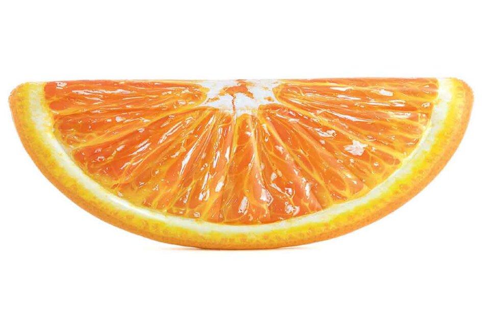 """Пляжный надувной матрас-плот """"Долька апельсина"""" INTEX 58763 в Туле"""