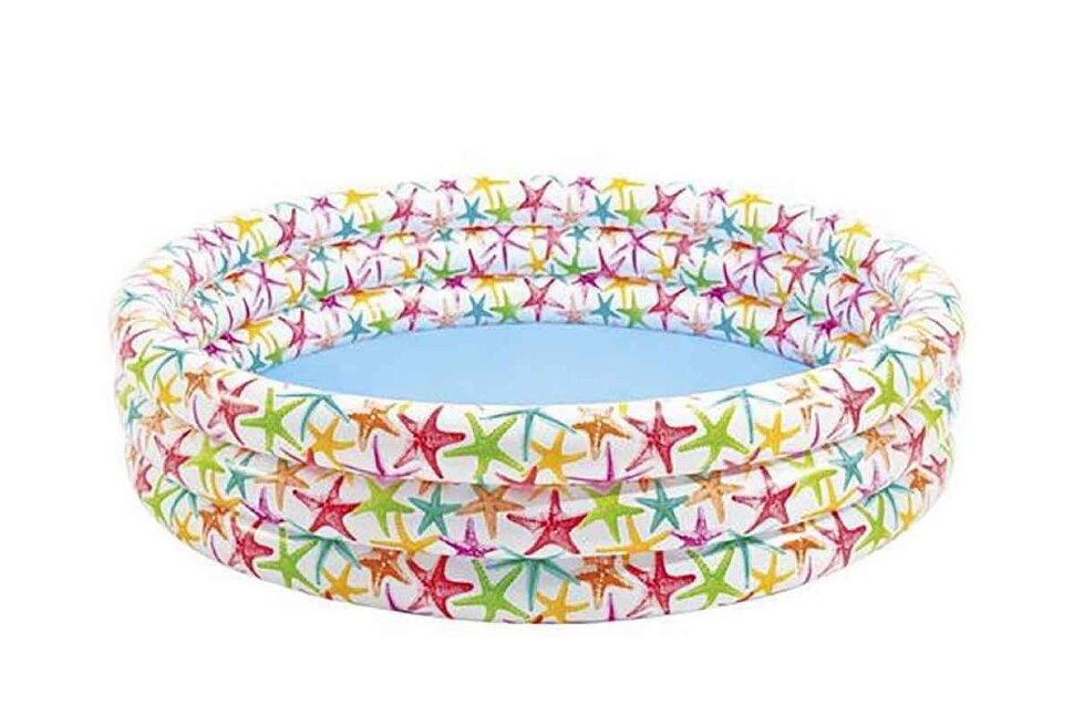 """Детский надувной бассейн """"Морские звезды"""" INTEX 56440 в Калуге"""