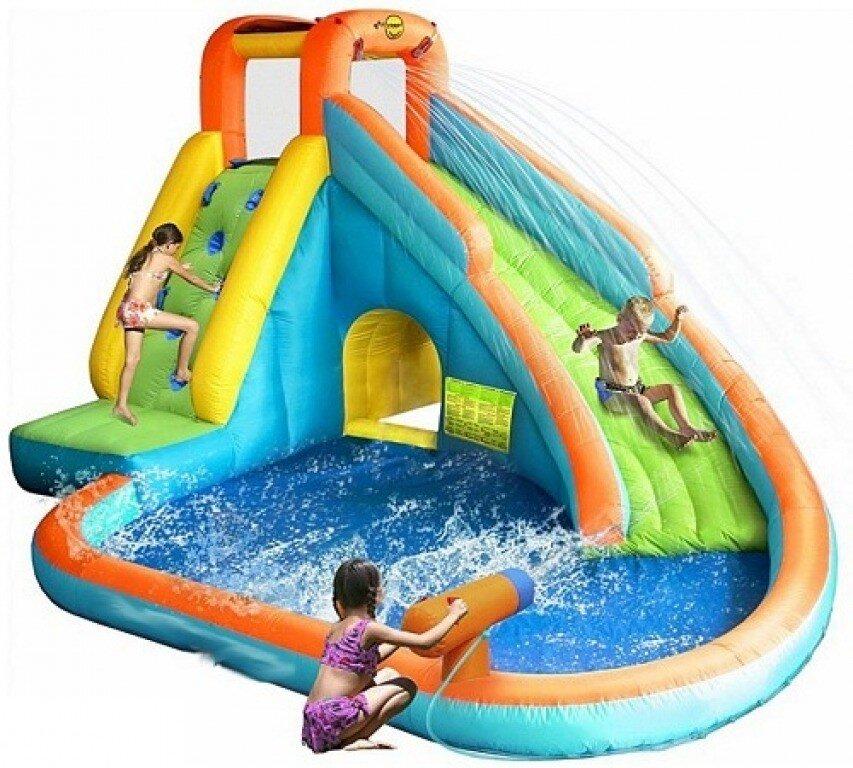 Детский водная горка с бассейном HAPPY HOP 9117N