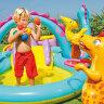 Детский бассейн с горкой
