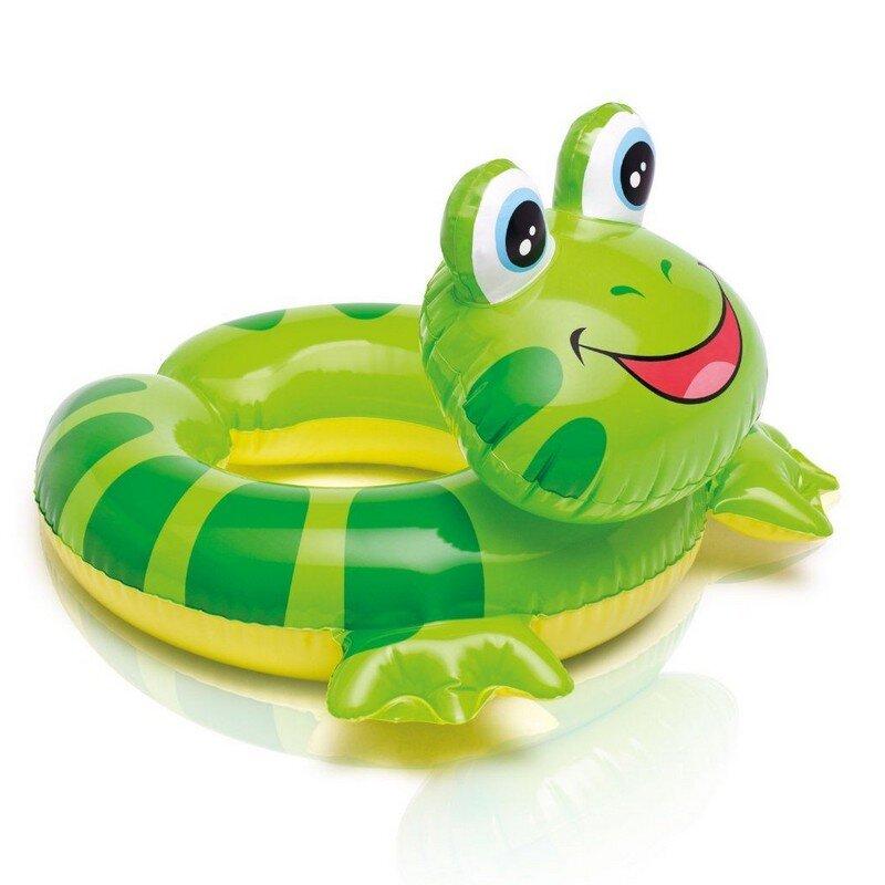 """Детский круг для плавания """"Надувная черепаха"""" INTEX 59220 в Барнауле"""