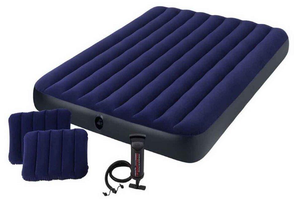 Надувной матрас двуспальный INTEX 64765(поврежденная упаковка) в Екатеринбурге