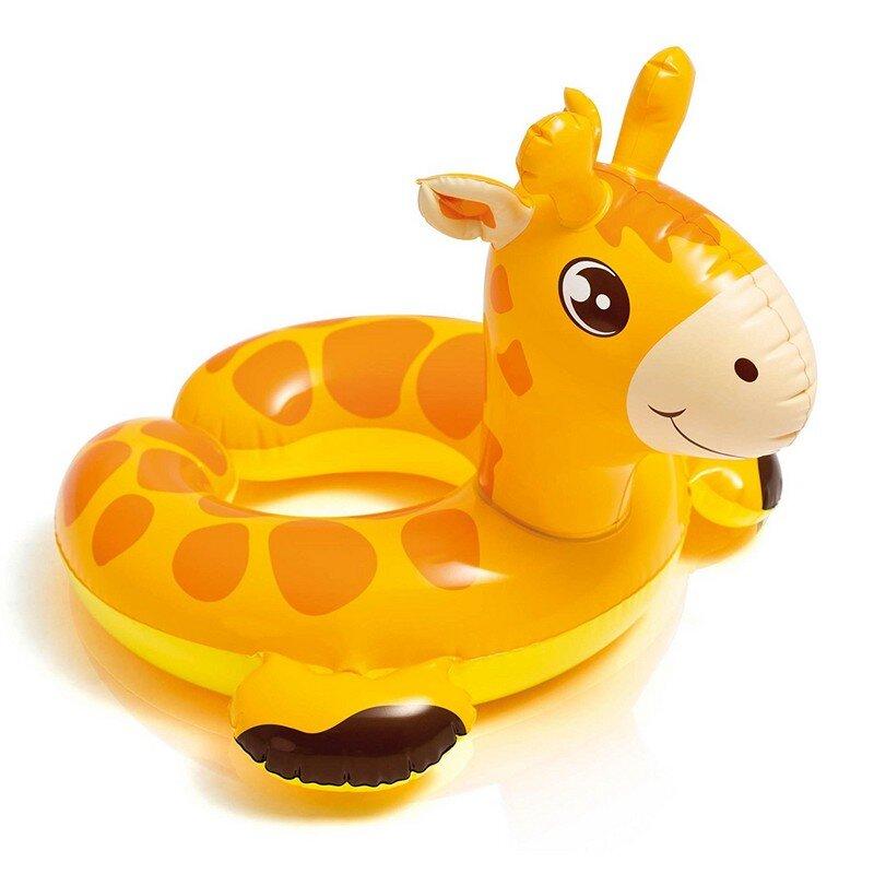 """Детский круг для плавания """"Надувной жираф"""" INTEX 59220 в Калуге"""