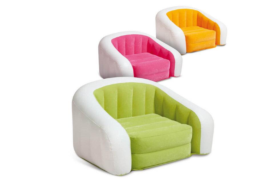 Надувное кресло INTEX 68571 в Барнауле
