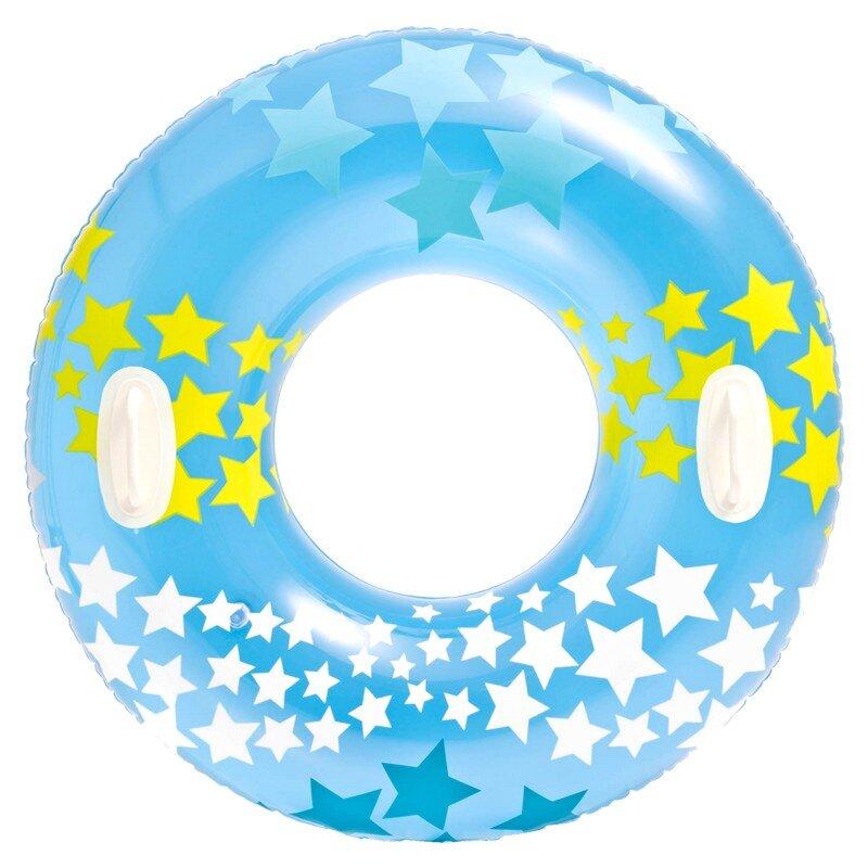 Надувной круг для плавания со звездами INTEX 59256 Blue в Тольятти