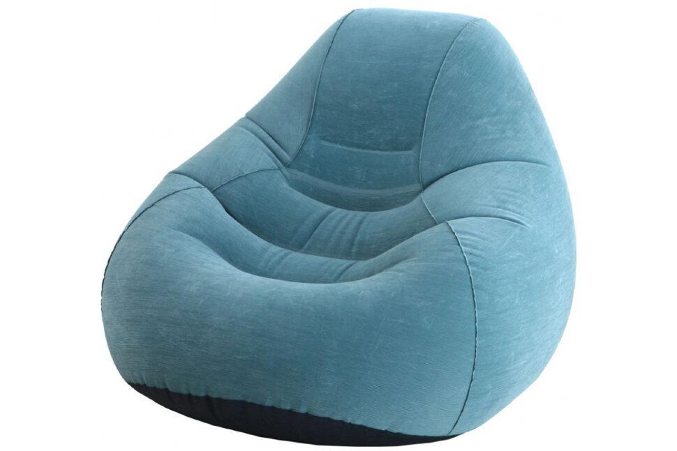 Надувное кресло-мешок для сидения делюкс INTEX 68583 в Смоленске