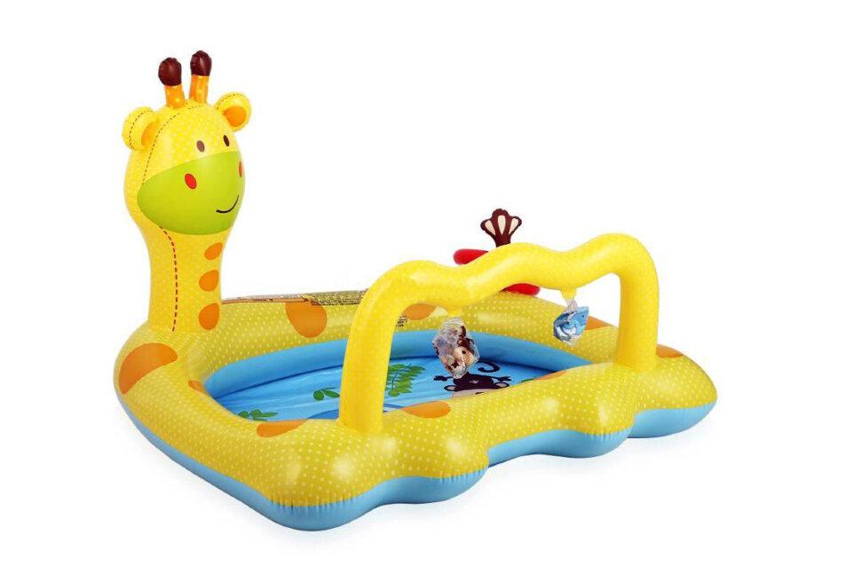 """Надувной бассейн для малышей """"Жираф"""" INTEX 57105 в Клину"""
