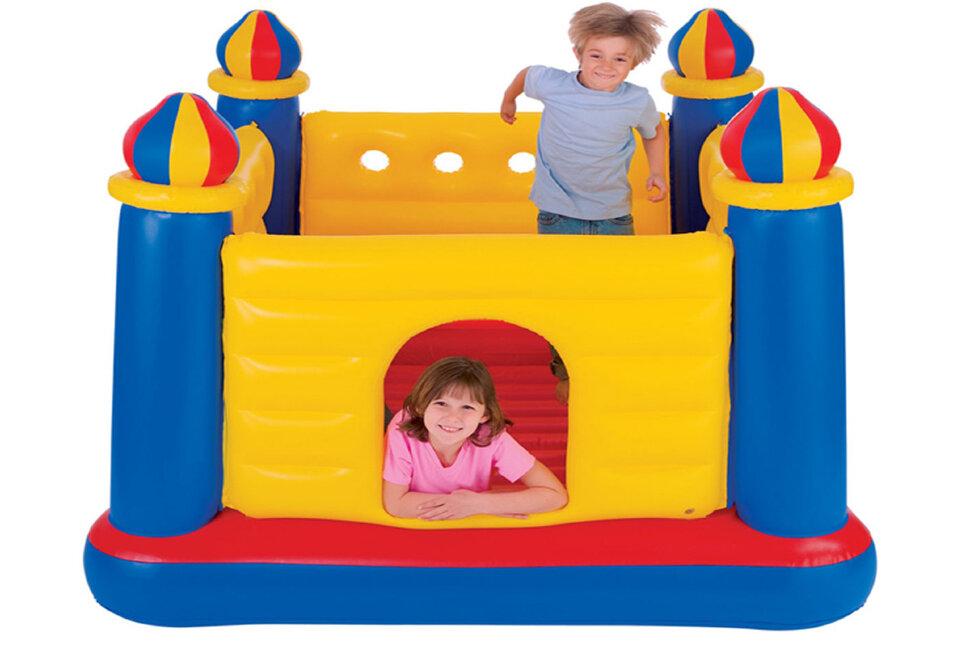 """Детский надувной батут """"Замок с башнями"""" INTEX 48259 в Оренбурге"""
