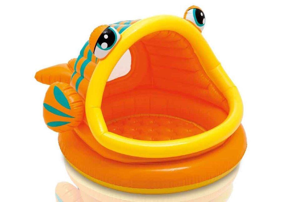 """Надувной бассейн для малышей """"Ленивая рыбка"""" INTEX 57109 в Москве"""