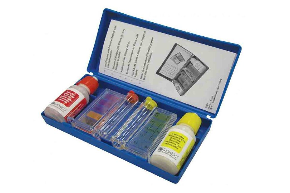 AQ12235 KOKIDO, Тестер капельный pH и Cl/Br в Клину