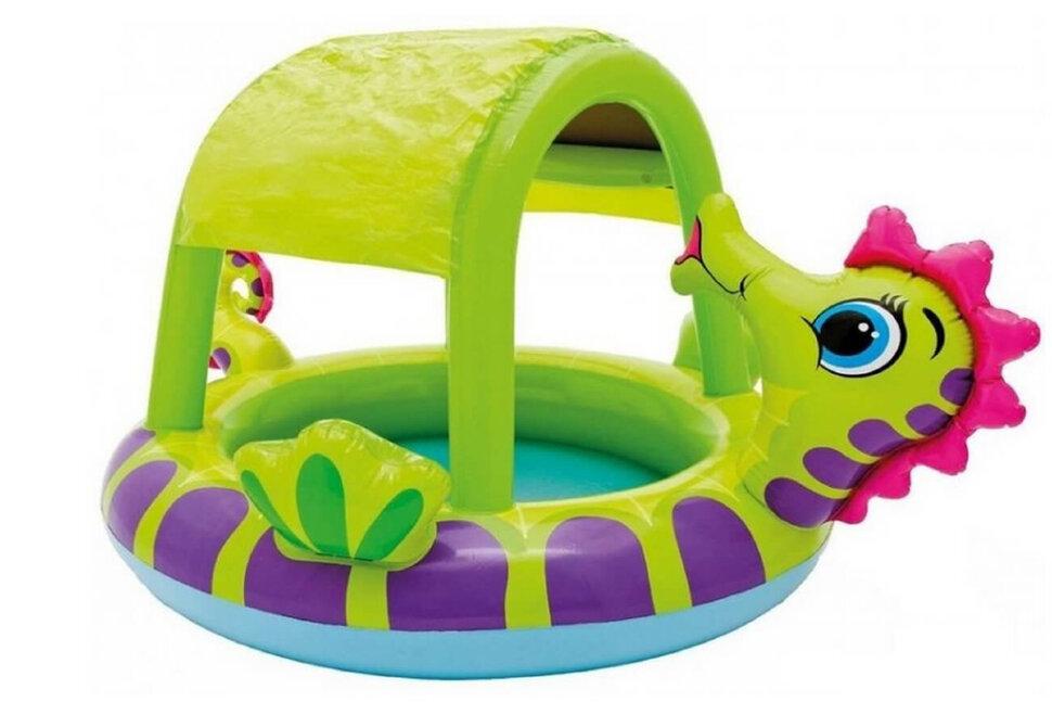 """Надувной бассейн для малышей """"Морской конек"""" INTEX 57110 в Клину"""