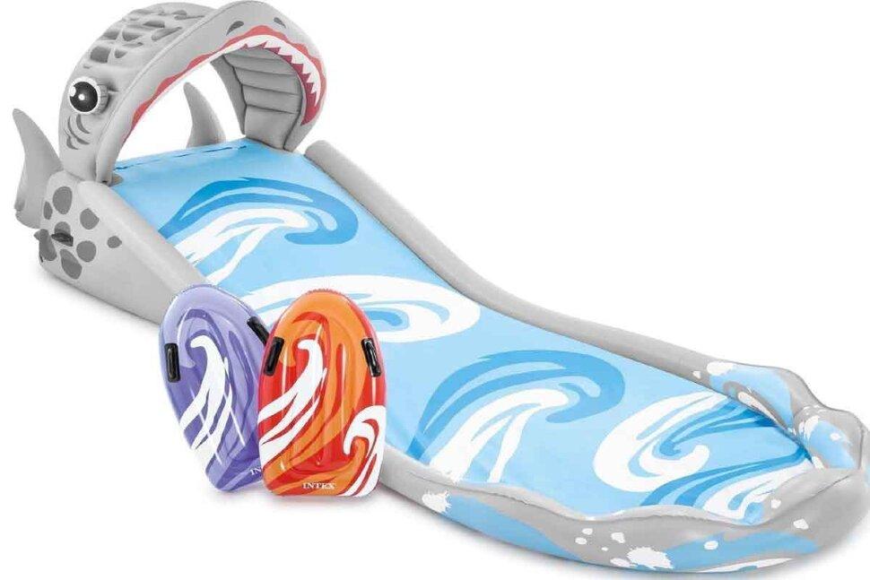 Надувная водная горка для серфинга INTEX 57159