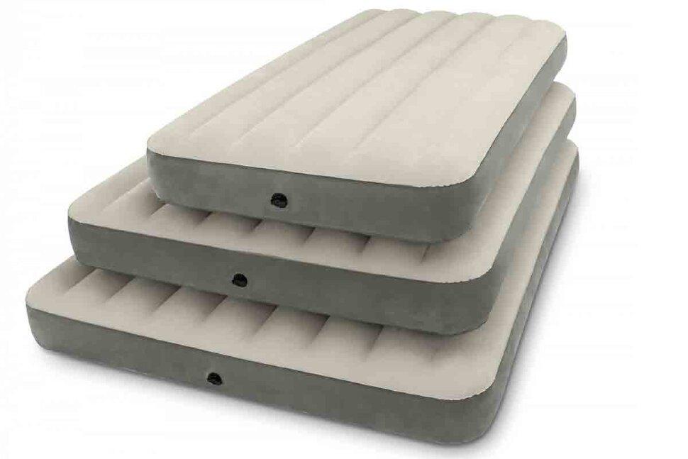 Двуспальный надувной матрас INTEX 64709 DELUXE SINGLE-HIGH(поврежденная упаковка) в Ростове-на-Дону