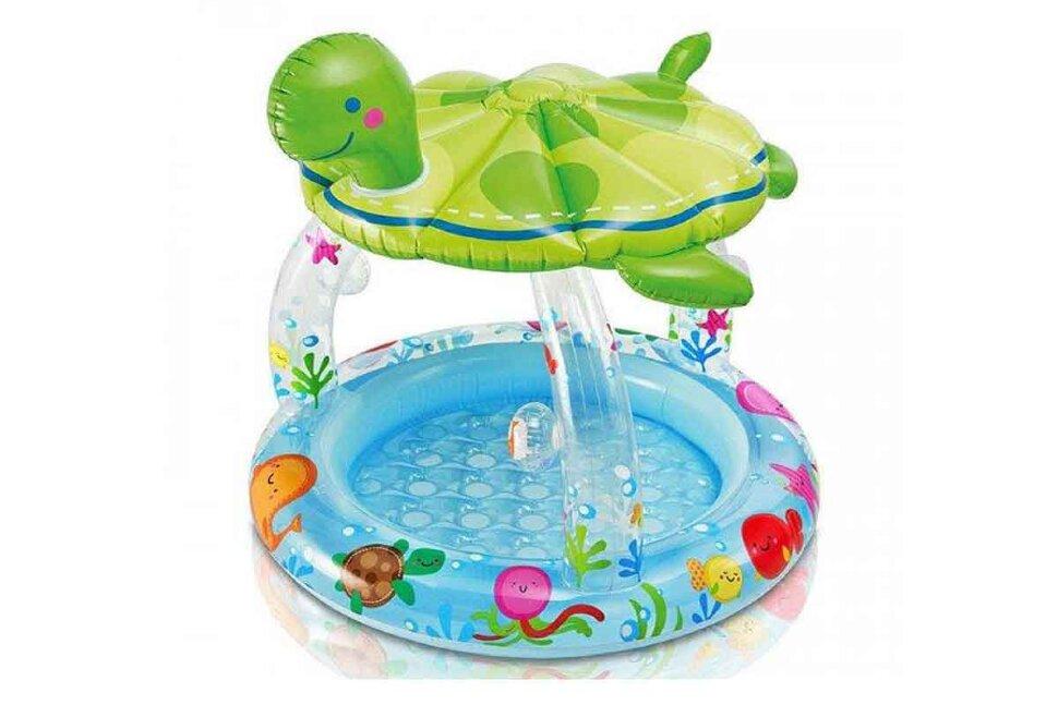 """Надувной бассейн для малышей """"Морская черепаха"""" INTEX 57119 в Барнауле"""