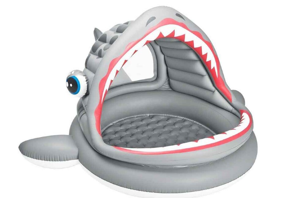 """Детский надувной бассейн """"Акула"""" INTEX 57120 в Оренбурге"""