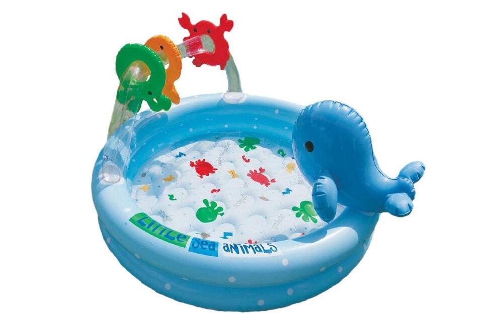 """Надувной бассейн для малышей """"Дельфинчик"""" INTEX 57400 в Уфе"""