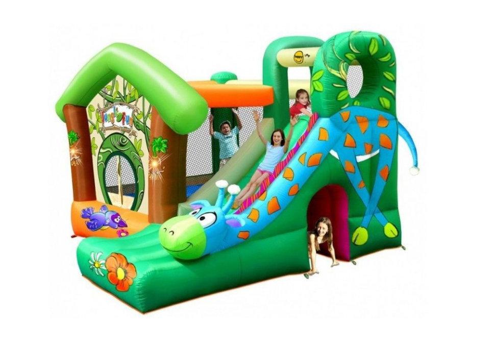 """Детский надувной игровой центр """"Жираф"""" HAPPY HOP 9139 в Калуге"""