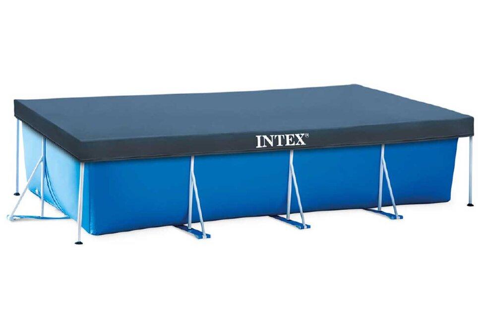 Тент для прямоугольного каркасного бассейна INTEX 28038 в Москве
