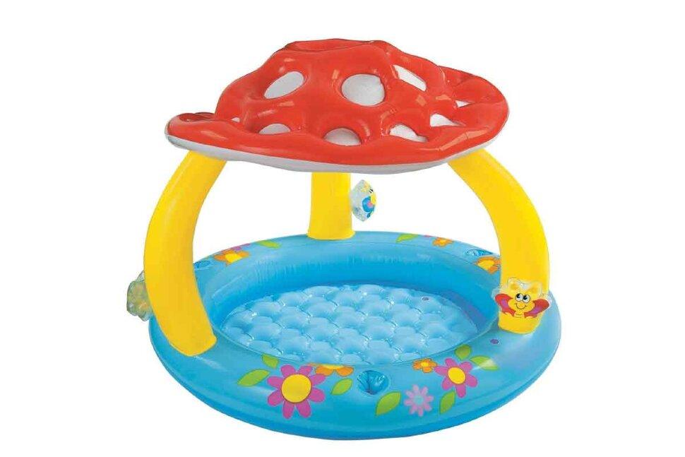 """Надувной бассейн для малышей """"Гриб-Мухомор"""" INTEX 57407 в Санкт-Петербурге"""