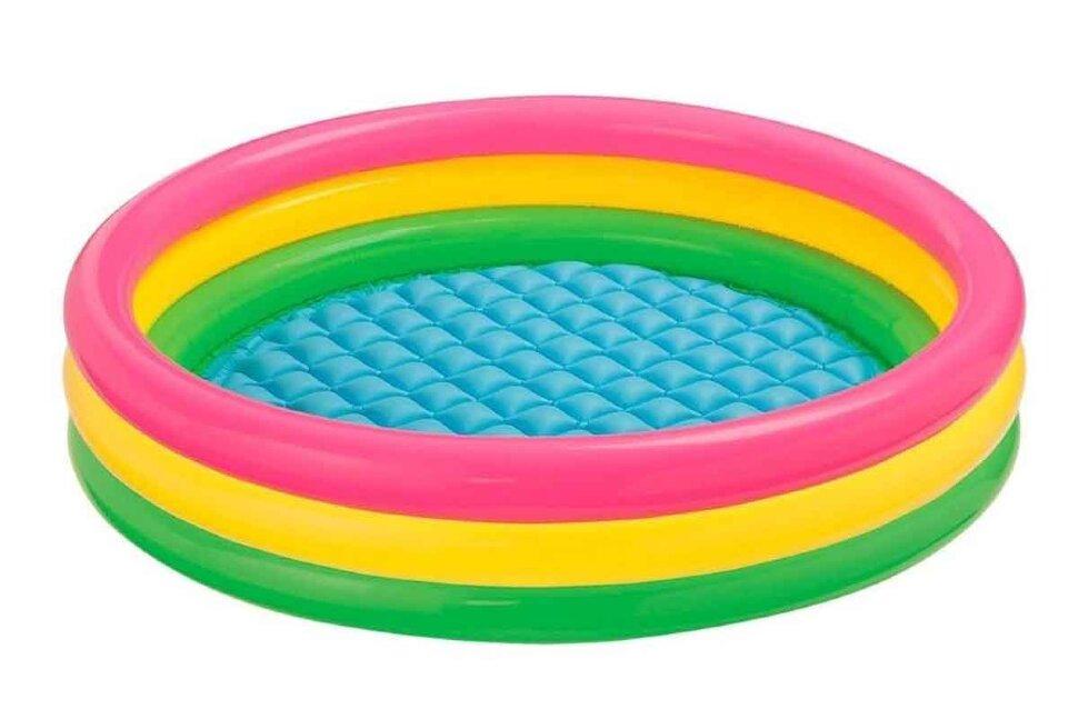 """Детский надувной бассейн """"Радужные кольца"""" INTEX 57422 в Клину"""