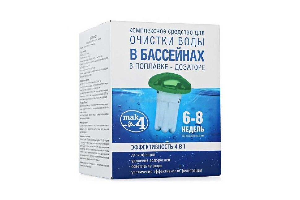 """Дозатор с таблетками для длительной дезинфекции воды в бассейне """"МАК 4"""" 10037 в Барнауле"""