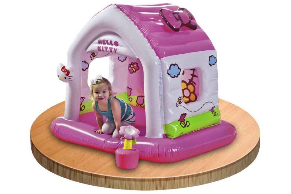 """Надувной детский игровой центр """"Hello Kitty"""" INTEX 48631 в Туле"""