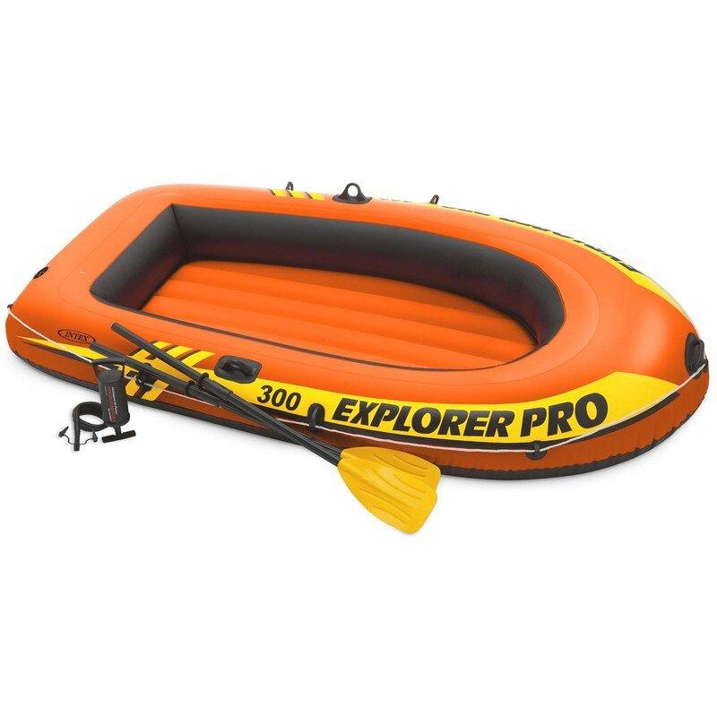 """Детская надувная трехместная лодка INTEX 58358 """"Explorer Pro 300"""" в Туле"""
