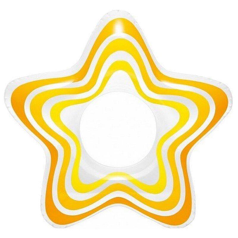 """Круг для плавания """"Звезда"""" INTEX 59243 Yellow в Тюмени"""