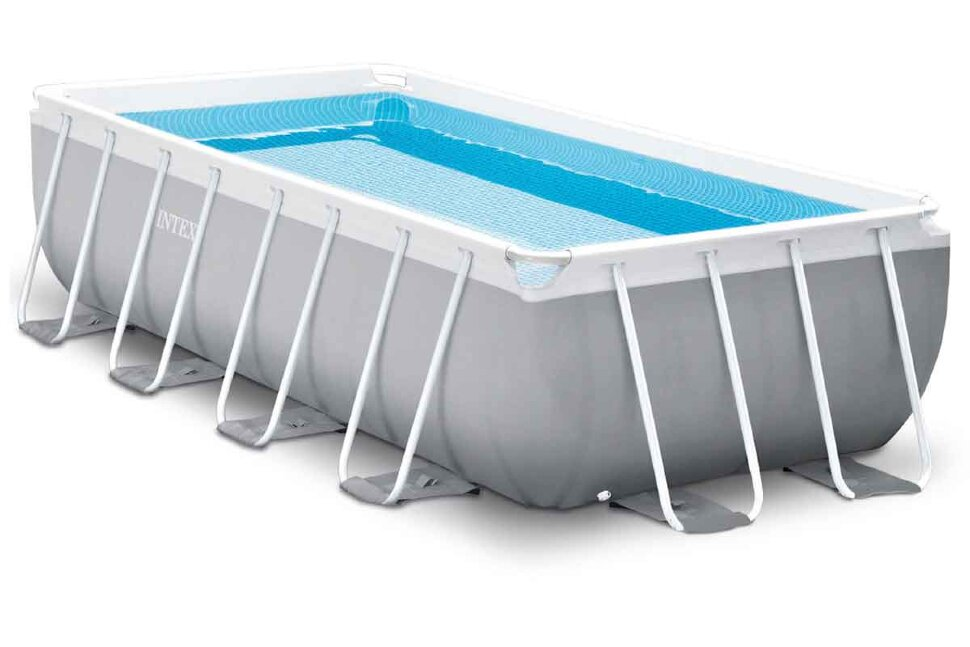 Бассейн каркасный прямоугольный INTEX Prism Frame Rectangular 26788 + в подарок игровые мячи для бассейна в Оренбурге