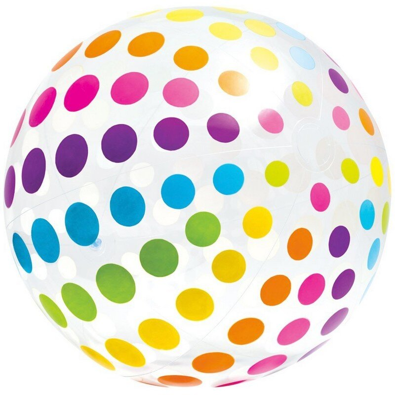 Большой надувной мяч 183 см. INTEX 58097 в Казани