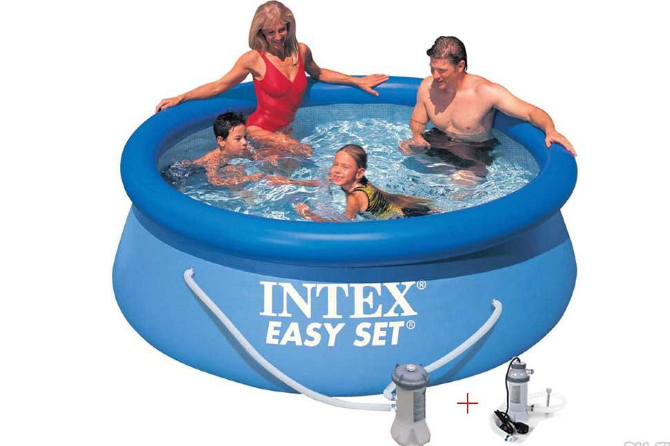 Бассейн надувной с подогревом INTEX Easy Set 28112P28684 в Новосибирске