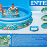 Бассейн надувной с подогревом INTEX Easy Set 28126P28684