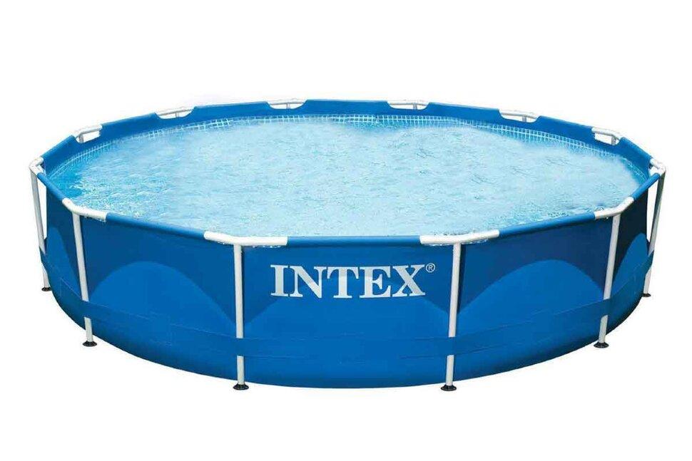 Бассейн каркасный круглый INTEX Metal Frame 28210 в Туле