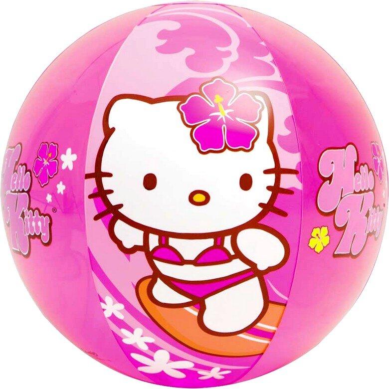 """Надувной мяч для девочек """"Hello Kitty"""" 51 см. INTEX 58026 в Кемерово"""
