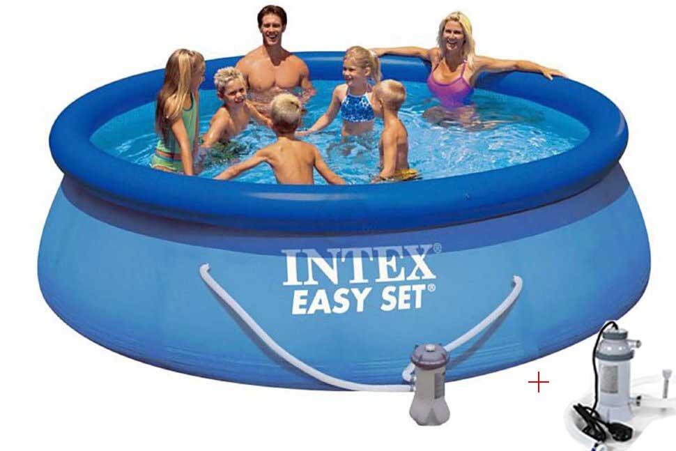Бассейн надувной с подогревом INTEX Easy Set 28132P28684 в Казани